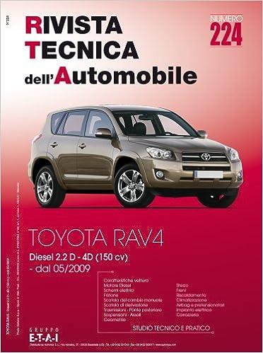 Manuale tecnico per la riparazione e la manutenzione dell/'auto Toyota Rav4