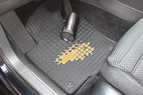 Gummimatten Gummi Fußmatten Satz Volvo V40 2012-2019 2-teilig Vorne