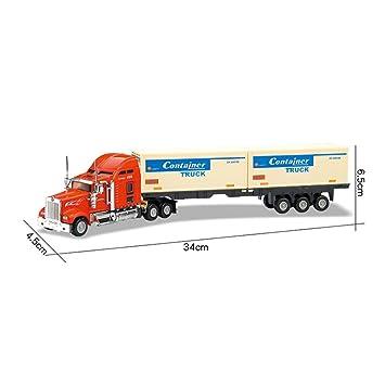 Ocamo 1:48 Alloy Sliding Container Trucks High Simulation