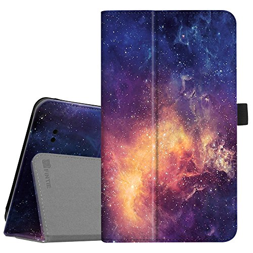 Fintie Alcatel 3T / A30 Tablet 8 Case, Premium PU Leather Folio Stand Cover Compatible with T-Mobile 8-inch Alcatel 3T 2018 / Alcatel A30 2017 Tablet, Galaxy
