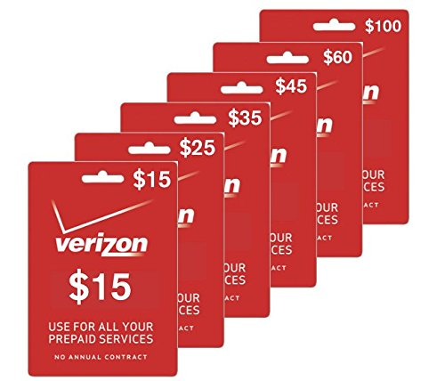 15 verizon prepaid phone card no shipping instant refill sent to your phone - Prepaid Cell Phone Cards