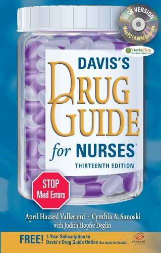 Davis's Drug Guide for Nurses + Resource Kit CD-ROM (Davis's Drug Guide for Nurses (W/CD))