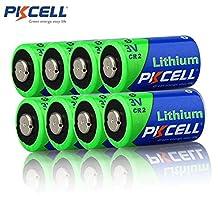 8 Pcs 3V CR2 CR-2 CR15H270 CR2H15270 850mah Lithium Batteries