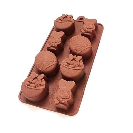 S Pascua Molde De Silicona Molde para Chocolate Moldes De Silicona DIY Tartas Chocolate