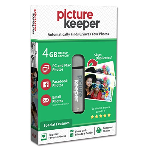 Picture Keeper Portable Flash Drive Photo Backup USB Drive 8