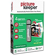 Picture Keeper 4GB Portable Flash USB Photo Backup and Storage Device for Computers