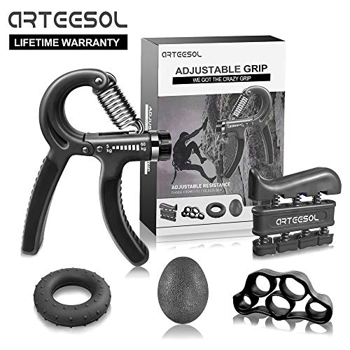 Hand Grip Strengthener, Arteesol Finger Strengthener, used for sale  Delivered anywhere in Canada