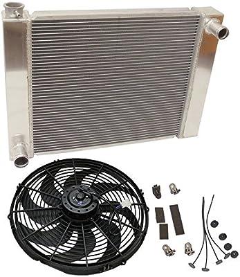 Para Ford/MOPAR fabricado en aluminio radiador 26