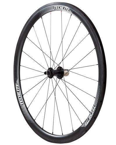 Techlite Wheels Carbon Tubular Complete Wheelset, 38-Inch/Medium