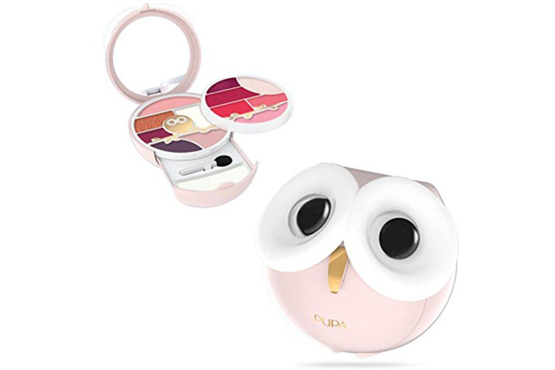 Pupa - Owl 3 - 011 - Estuche Pupa color rosa: Amazon.es: Belleza