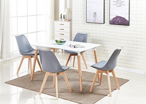 Pamp; Und Stühle Lorenzo Homewares® 4 N Modern Esstisch Retro Set dxoQCBWEre