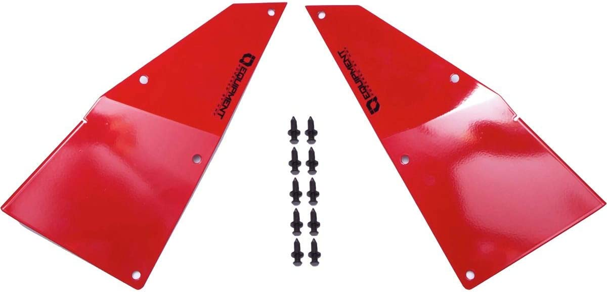 HMF Polaris IQ Radiator Scoops RED for 18-20 Polaris RZRRS1