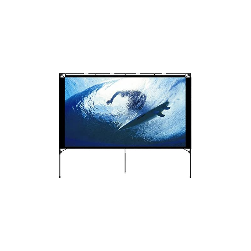 Outdoor Projector Screen - Foldable Port