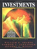 img - for By William Sharpe - Investments: 6th (sixth) Edition book / textbook / text book