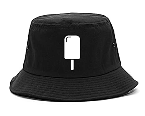 Kings Of NY Ice Cream Bar Popsicle Mens Bucket Hat Black at Amazon ... d8a786be409