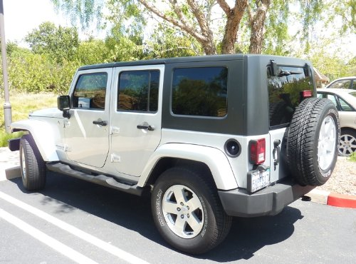 2007 2018 Jeep Wrangler Cover 4 Door Suv Up To 200 In The