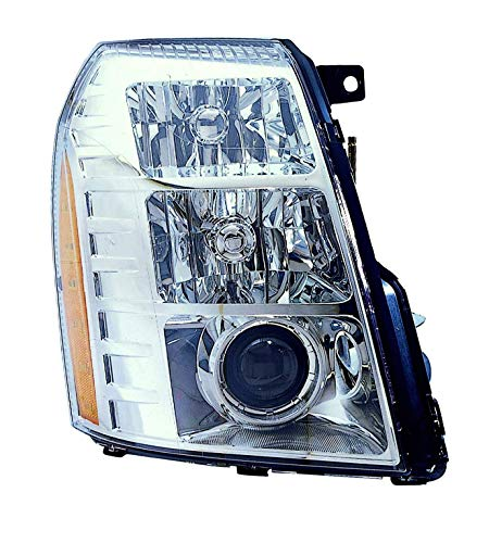 Depo 332-11B3R-ASH Head Lamp Assembly (Cadillac Escalade 07-09/Hybrid 09with Hid 1St Design)