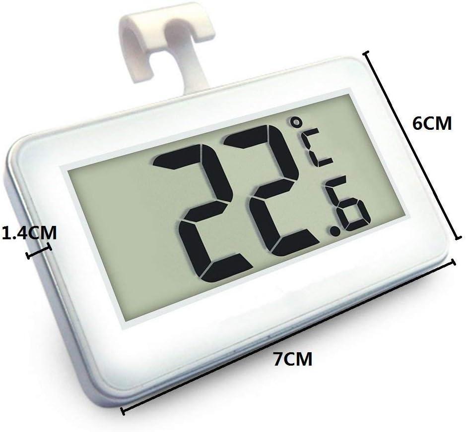 Compra Ogquaton Termómetro para refrigerador, Mini LCD Digital ...