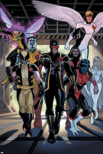 X-Men Legacy Annual No.1 Group: Cyclops, Wolverine, Nightcra