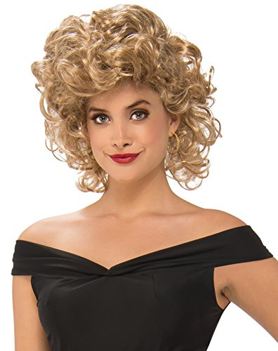 Rubie's Women's Grease, Bad Sandy Wig, As Shown, One - Sandy Bad