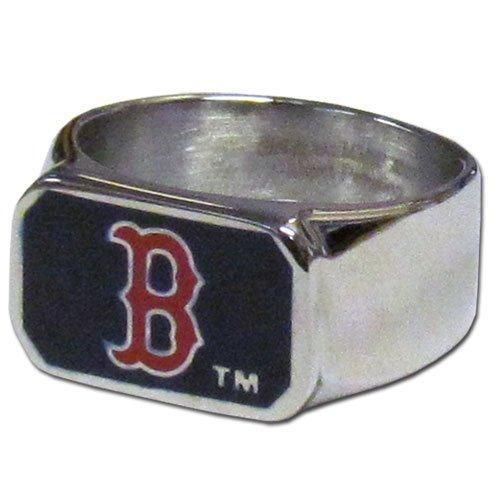 MLB Boston Red Sox Steel Bottle Opener, Ring Size 10