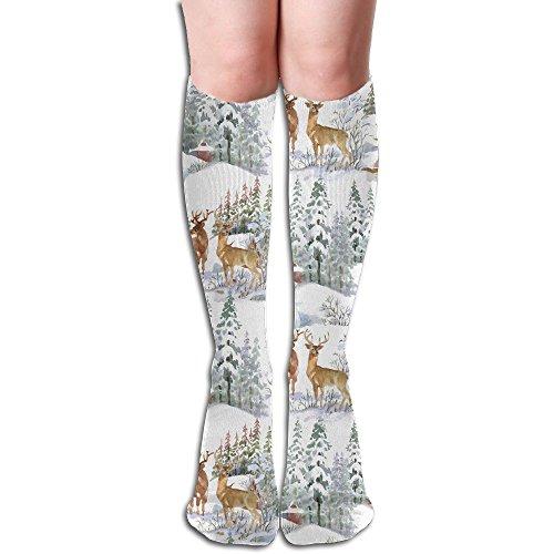 配偶者エールせっかち白色ムシカ ストッキング 3D デザイン 女性男性 秋と冬 フリーサイズ 美脚 かわいいデザイン 靴下 足元パイル ハイソックス メンズ レディース ブラック サイハイソックス