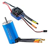 3670 2150KV 5mm 4P Sensorless Brushless Motor with 80A Brushless ESC(Electronic Speed Controller)
