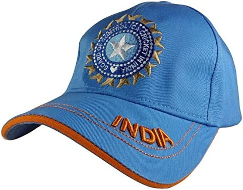 d9e58cb3090a3 Buy Indian Cricket Cap Military for Men in Blue   Army Cotton Caps ...