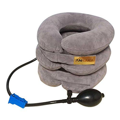 Ankaka T2 Travel Pillow - Airplane Pillow, Neck Pillow for Airplane Travel, Best Inflatable Travel Pillow for Airplanes, Travel Neck Pillow