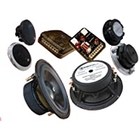 Super 3.2 - CDT Audio 6.5 2-Ohm Sub-bass 3-Way Component Speaker System