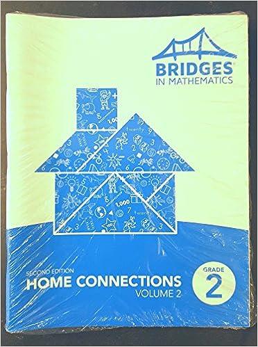 Bridges Grade 2 Home Connections, Volume 2, 2nd ed , 5