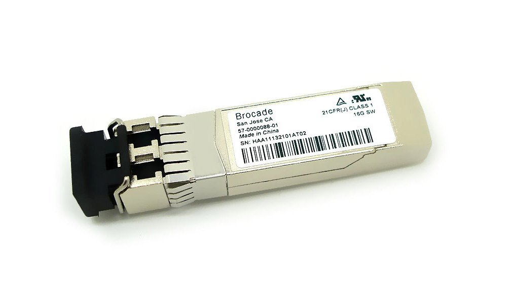 Brocade SFP+ 16G SW 850nm DDM Fiber Optic Transceiver 57-0000088-01