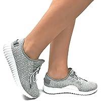 La Colección Jill Womens Calzado deportivo casual Fashion de malla transpirable zapatillas