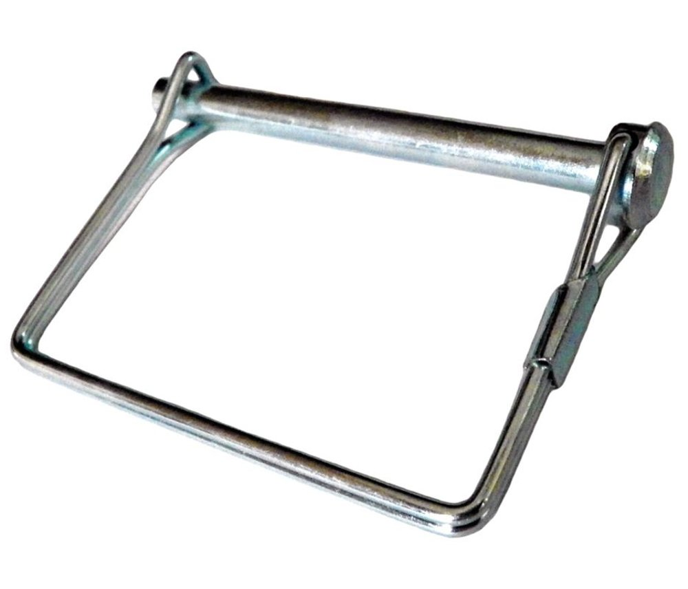 2-3/4'' Safety Hitch Pin with Plain Finish and +0.243/-0.248'' Dia. Tolerance