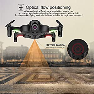 Drone with Camera, Potensic U29S Foldable Quadcopter with HD 720P Camera WiFi FPV 2.4Ghz Remote Control Drone with Optical Stream Altitude Hold & Headless Mode from Potensic