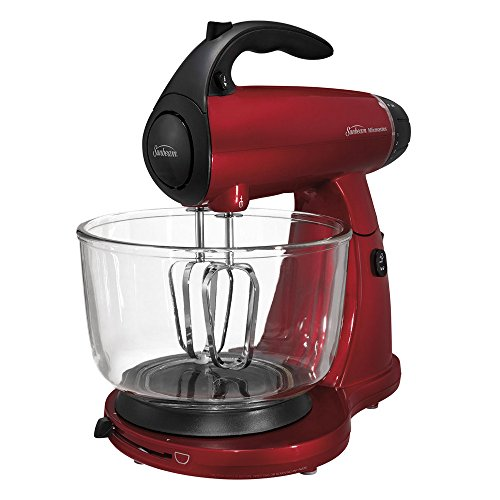 Sunbeam Mixmaster 12-Speed Stand Mixer FPSBSMGLR (Red)