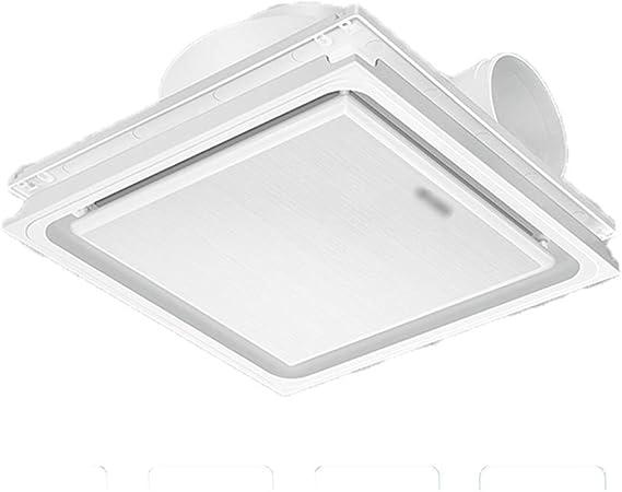 QIQIDEDIAN Ventilador de Escape Cuarto de baño Cocina integrada Ventilador de Techo Tipo de Techo Potente Ventilador silencioso máquina de ventilación (Size : A): Amazon.es: Hogar