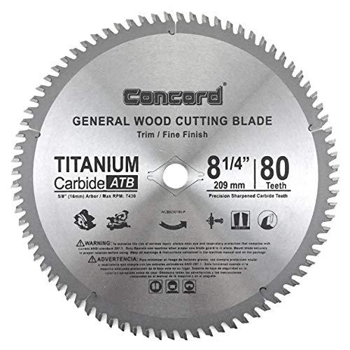 Concord Blades Wcb0825T080Hp 814