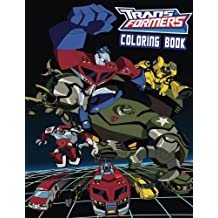 TRANSFORMERS: Coloring Book for Kids and Adults 40 illustrations