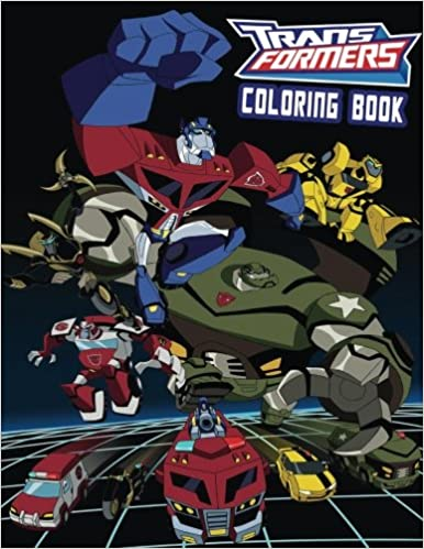 Amazon.com: TRANSFORMERS: Coloring Book for Kids and Adults 40 ...