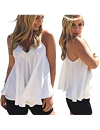 Women's Tank Tops, Mosunx(TM) Chiffon Vest Sleeveless Shirt