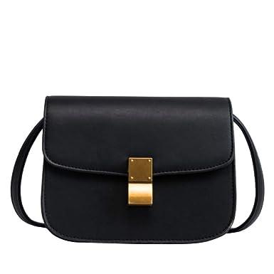 8540cfe17d5d5 Frauen PU Ledertasche Mode Schultertasche Handtasche Retro Eine Schulter  Diagonal Weiblich