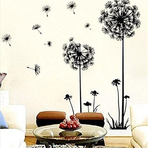 TraveT Removable Mural Dandelion Sticker