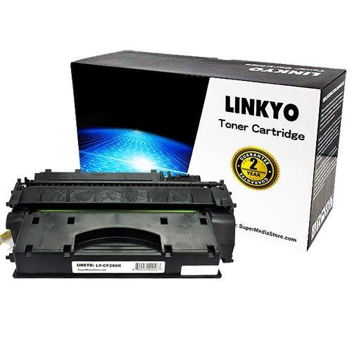 LINKYO® Compatible HP 80X (CF280X) Black Toner Cartridge, Office Central