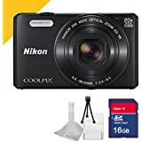 Nikon COOLPIX S7000 Camera with 16GB SDHC Class 10 Memory Card