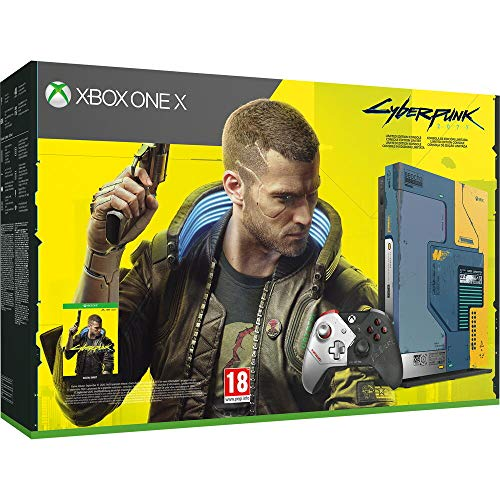 Xbox One – Pack Xbox One X Cyberpunk 2077 Edición limitada (1 TB)