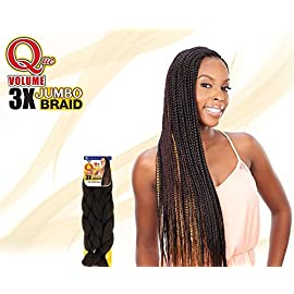 Shake N Go Que Volume 3X Tri Pack King Jumbo Braid Synthetic Hair (27) – LITE AUBURN