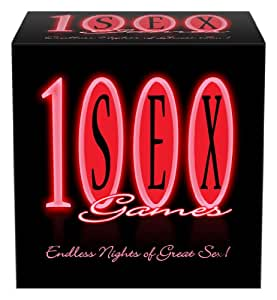 1,000 GAMES Couples Foreplay Fun Board Card Game Dice For Him and Her
