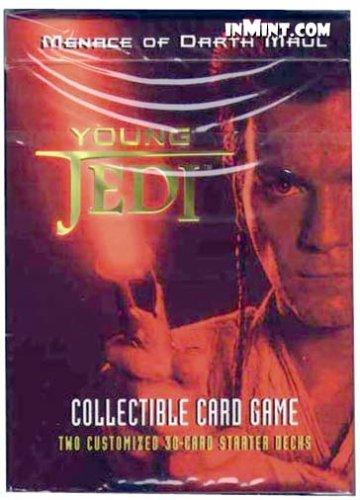 Young Jedi Ccg - Star Wars Young Jedi: Menace of Darth Maul Starter Deck
