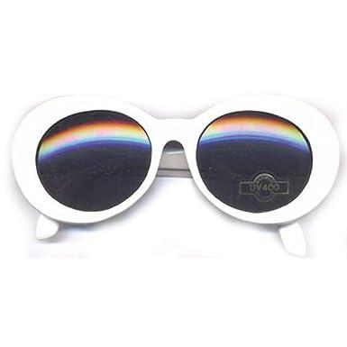 e1570b856e Kurt Cobain White Round Sunglasses  Amazon.co.uk  Clothing